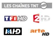 Chaînes TNT HD